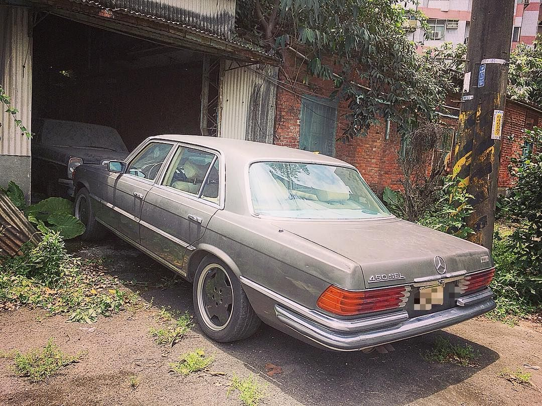 When We Meet Again Mercedes Classicmercedes W116 450sel Benz M117 Engine