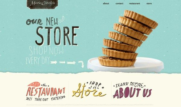 50 Inspirational E-Commerce Website Designs | Web Design | Pinterest ...