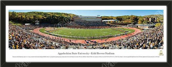 This large Appalachian State University stadium panoramic
