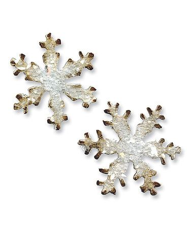 Take a look at this Snowflake Movers & Shapers Magnetic Die Set by Sizzix on #zulily today!
