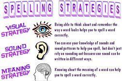 spelling strategies pdf