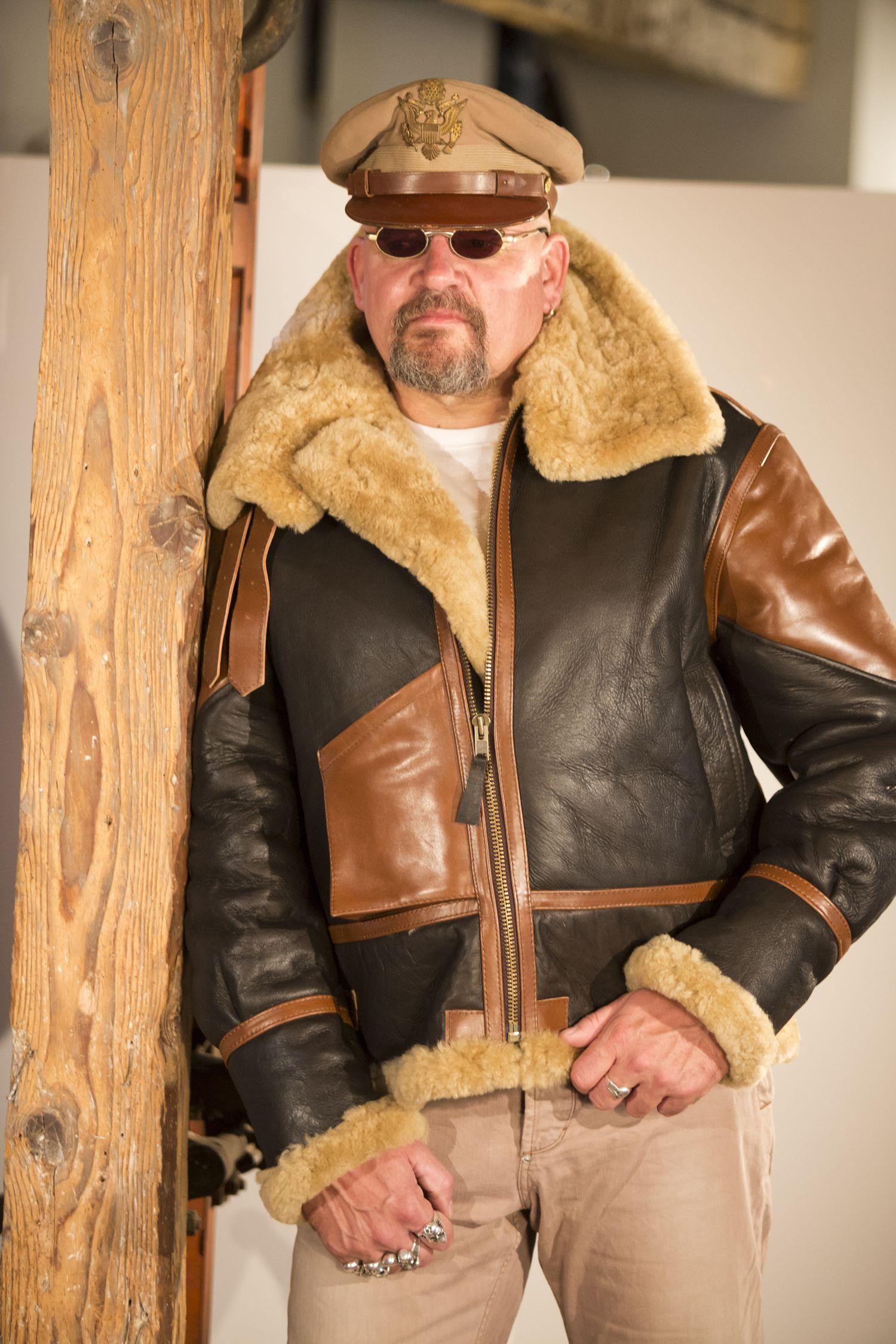B 3 Bomber Museums Edition Noblehouse Leather Jacket Sheepskin Jacket Sheepskin Coat