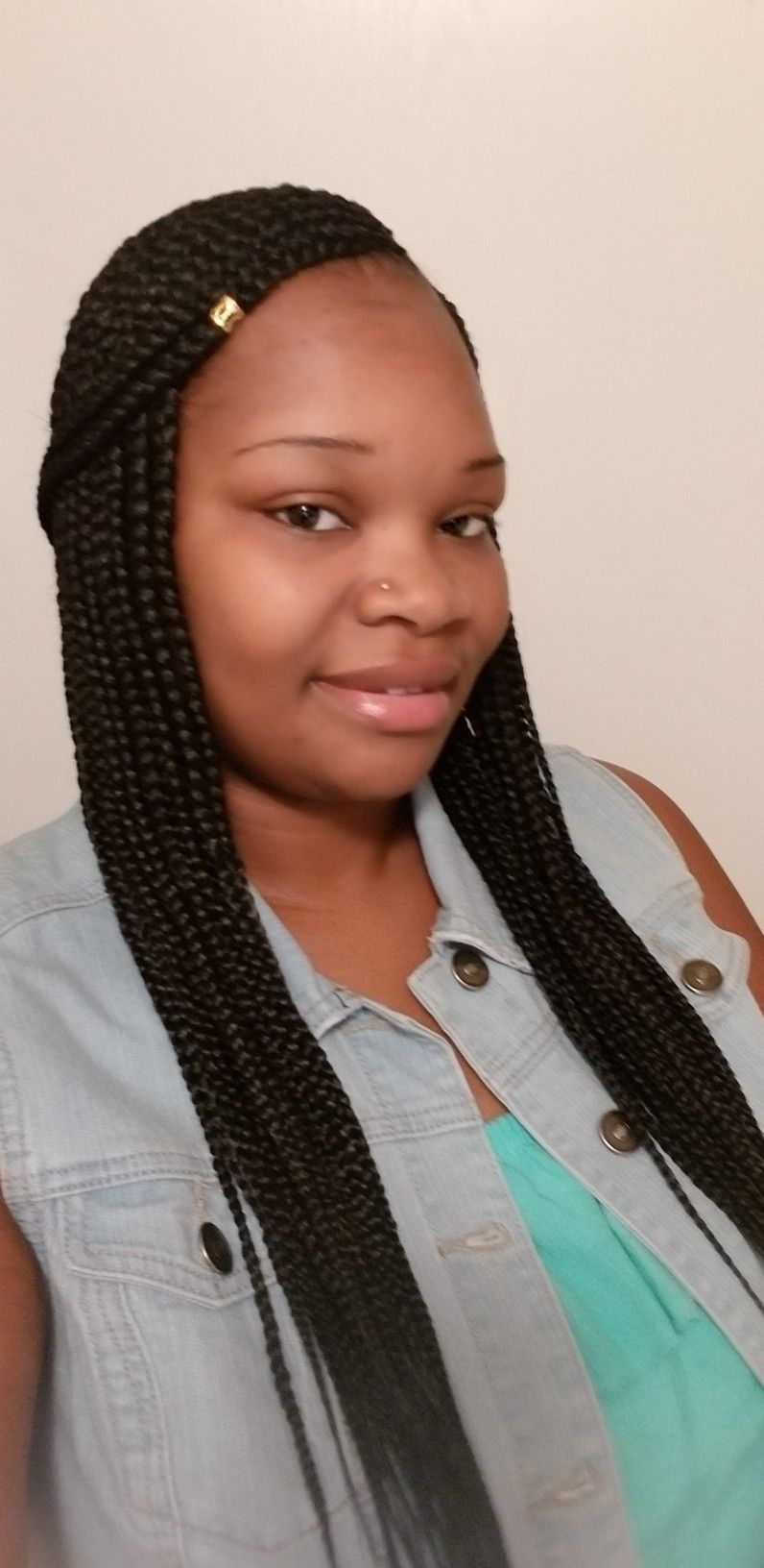 Pin by tamela ruff on 3 layer feed in braids | Feed in ...
