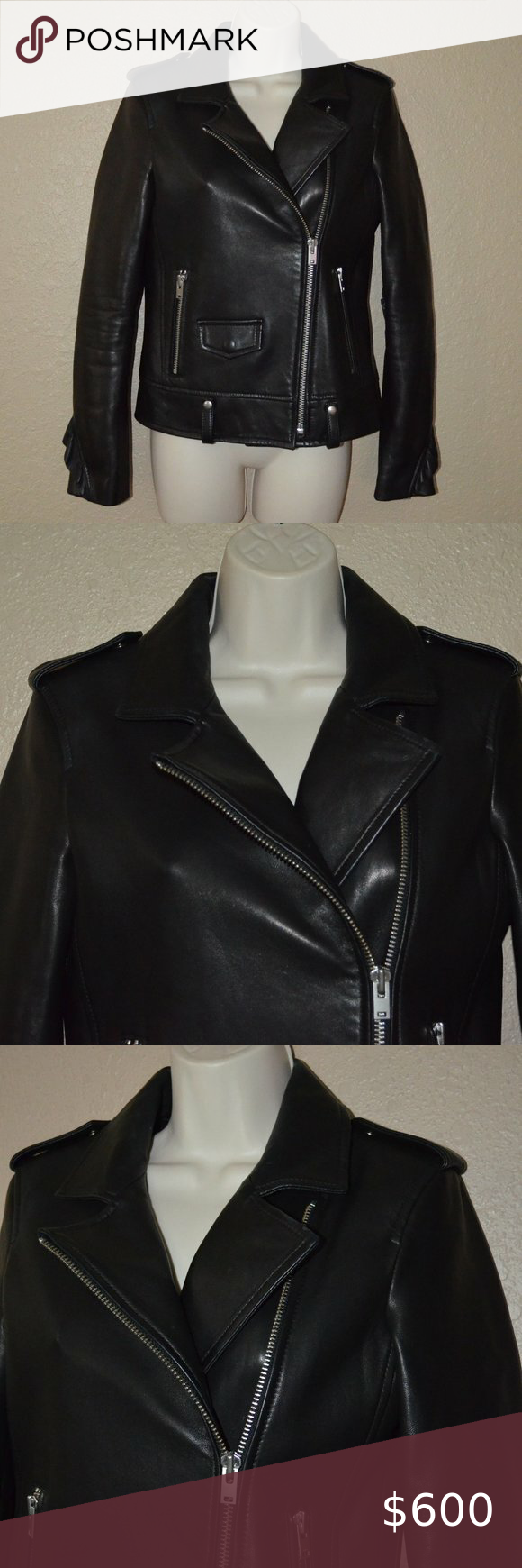 Nwot 1518 Sz 36 2 Iro Black Dumont Leather Jacket Nwot 1518 Sz 36 2 Iro Dumont Black Leather Ruffled Moto Jacket See Picture F In 2020 Leather Jacket Jackets Leather [ 1740 x 580 Pixel ]