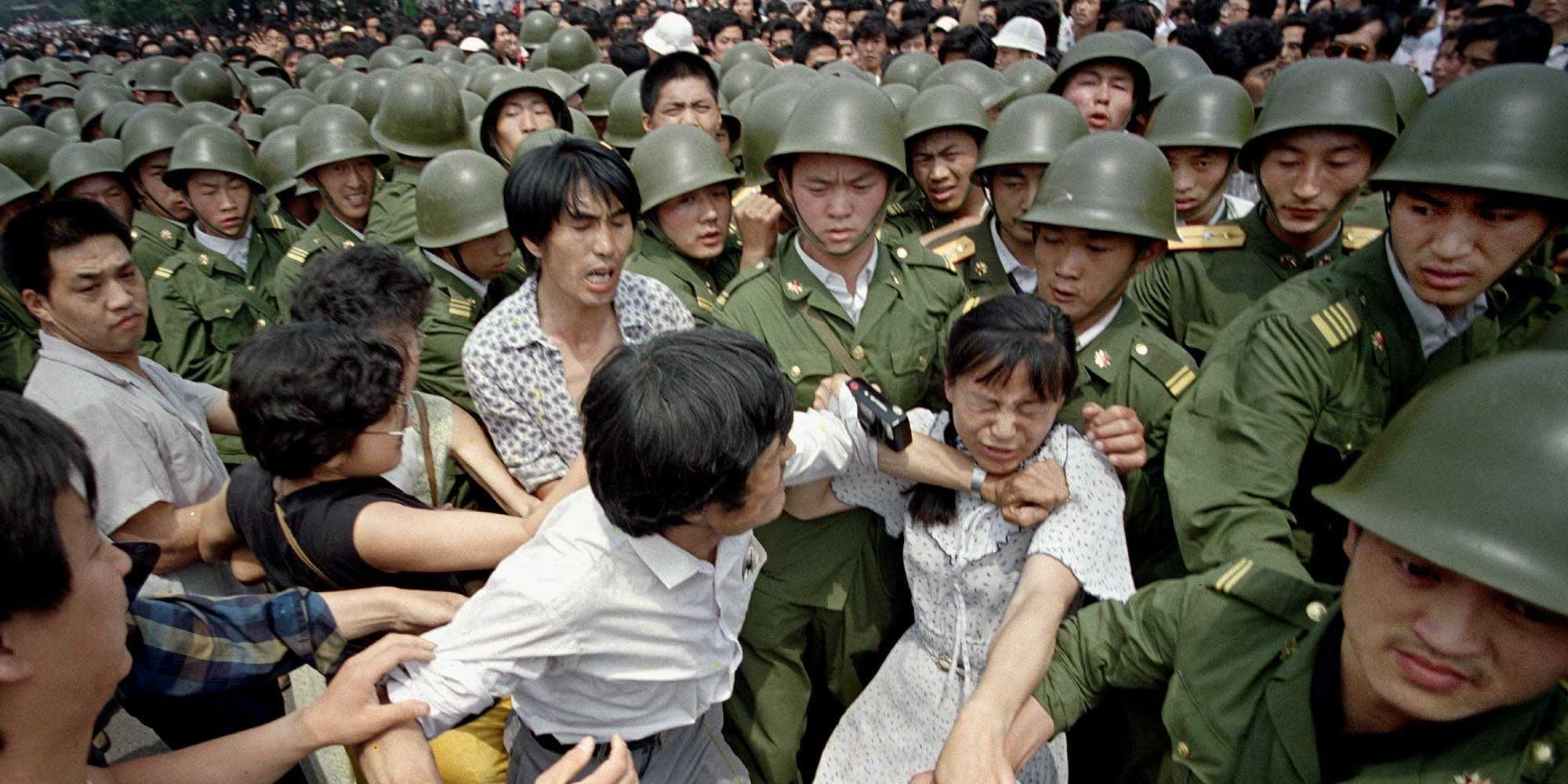 25 Photos From The Tiananmen Square Protests That China Has Tried