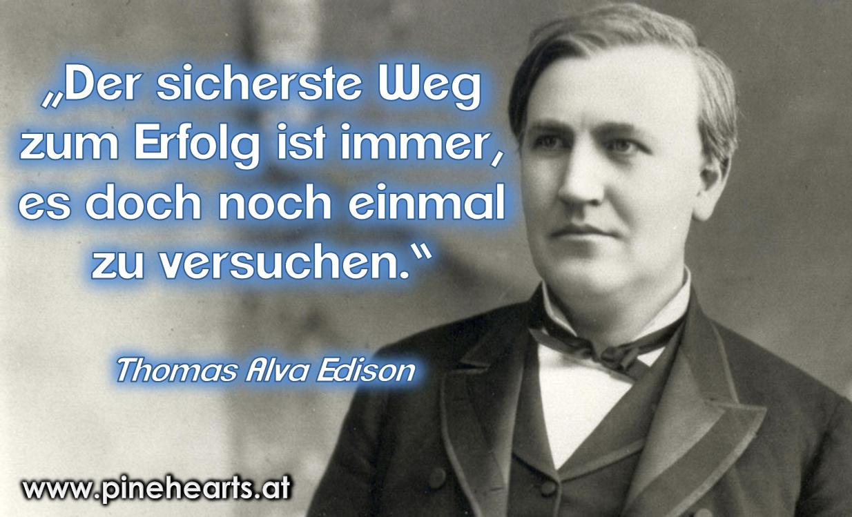 Schon Edison Wusste Ubung Macht Den Meister Edison Ubung Erfolg Lebensweisheiten Spruche Weisheiten Lebensweisheiten