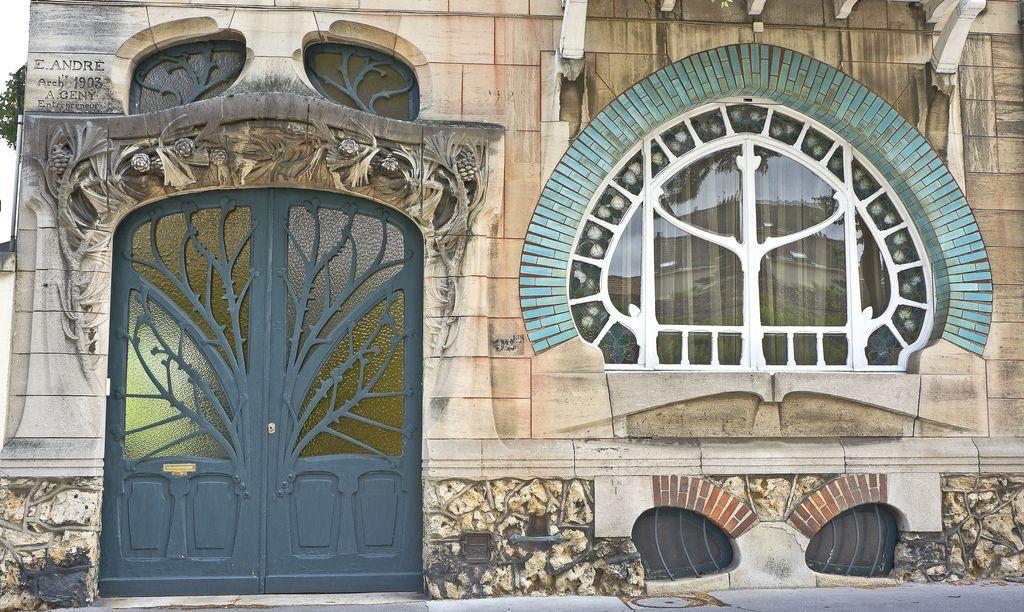La Maison De L Art Nouveau House Huot 1903 By Emile Andre In Nancy Art Nouveau Architecture Art Nouveau Architecture Art