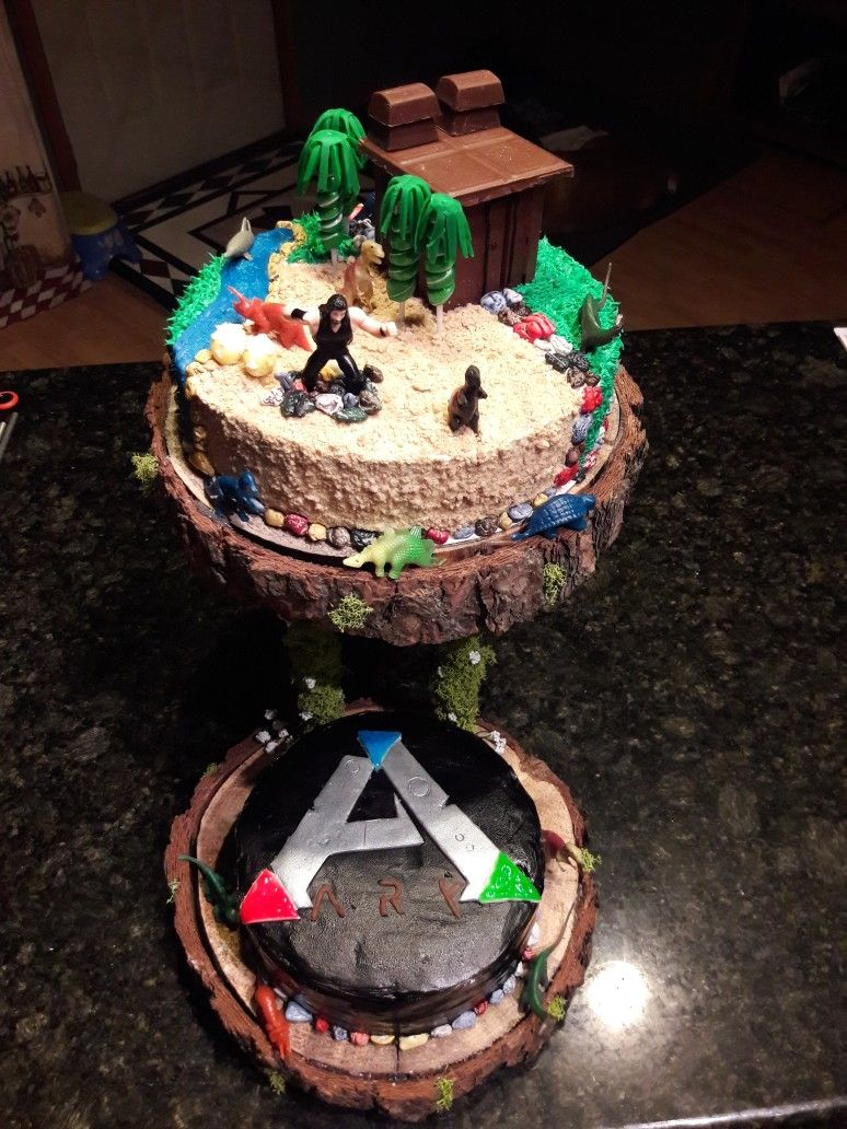 Sweet Cakes Ark : sweet, cakes, Survival, Video, Cakes,, Batman, Birthday, Party,, Party