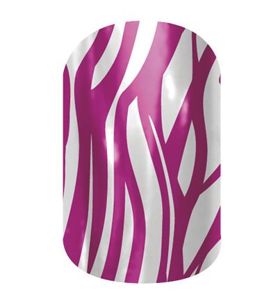 Purple Zebra nail wraps by Jamberry Nails #nailart #manipedi #manicure #pedicure #nails