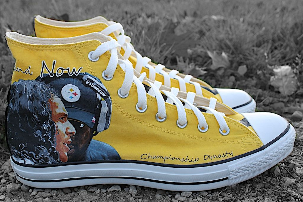 274cfb04d75 Steelers Custom Kicks Chucks Custom Sneakers