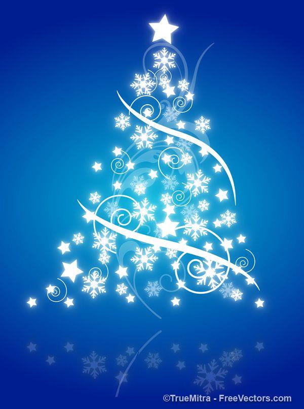 Decorative Christmas Tree Vector Christmas Images Free Christmas Images Christmas Cards Free