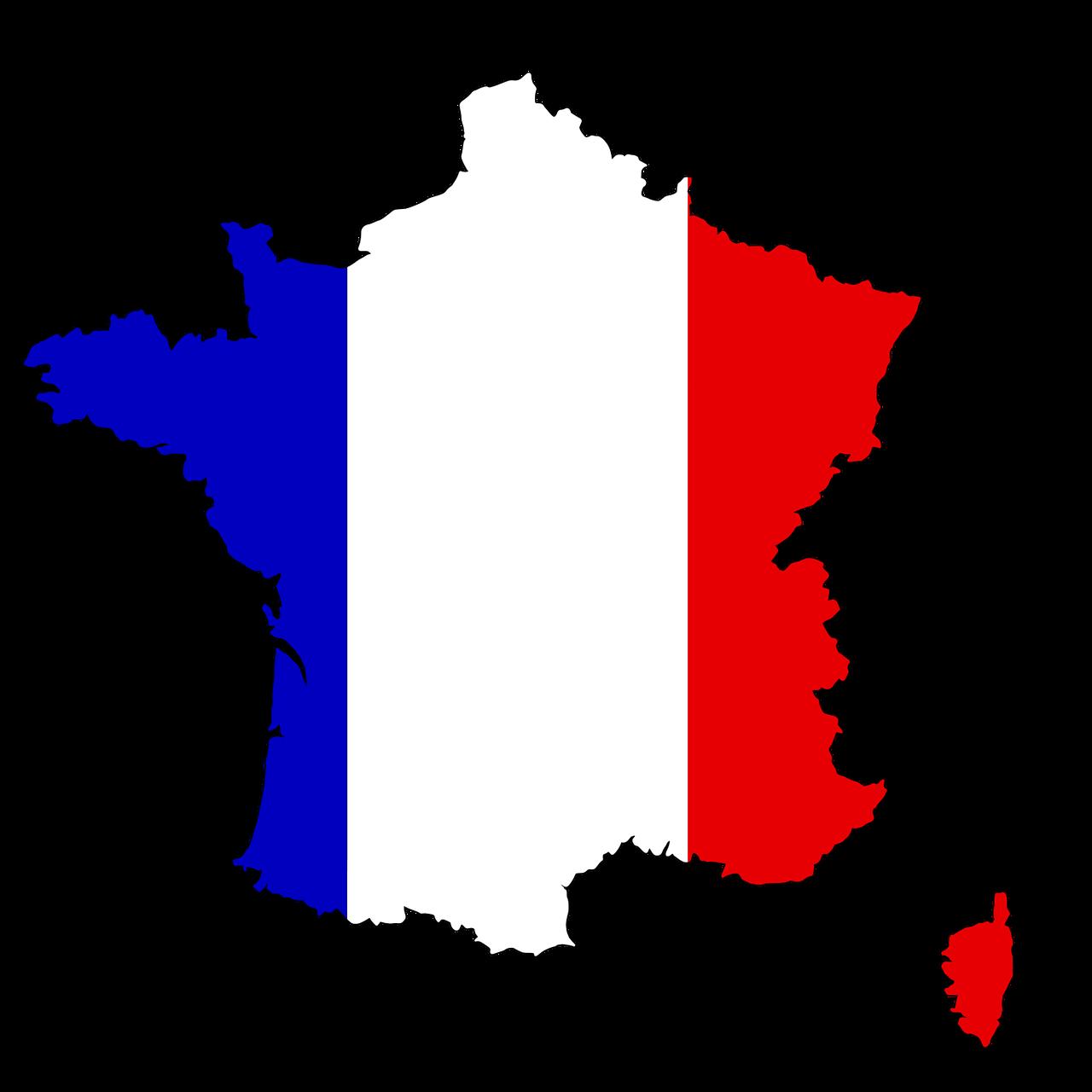 France France Corsica Map Flag Land France France Corsica Map Flag Land France Flag France Map Flag Vector