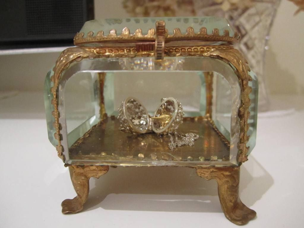 Ormolu Jewelry Box Casket Matson I have one like this with the