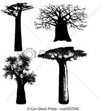 Resultado de imagen de dibujos de baobabs
