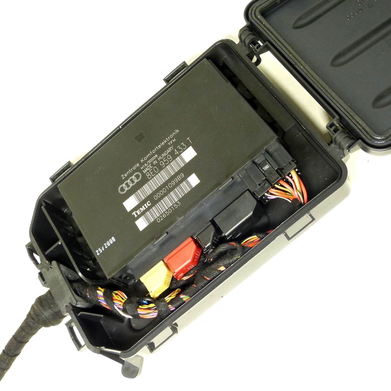 Audi A4 B6 B7 Bcm Ccm Comfort Control Module Body Zentrale Komfortelektronik Box