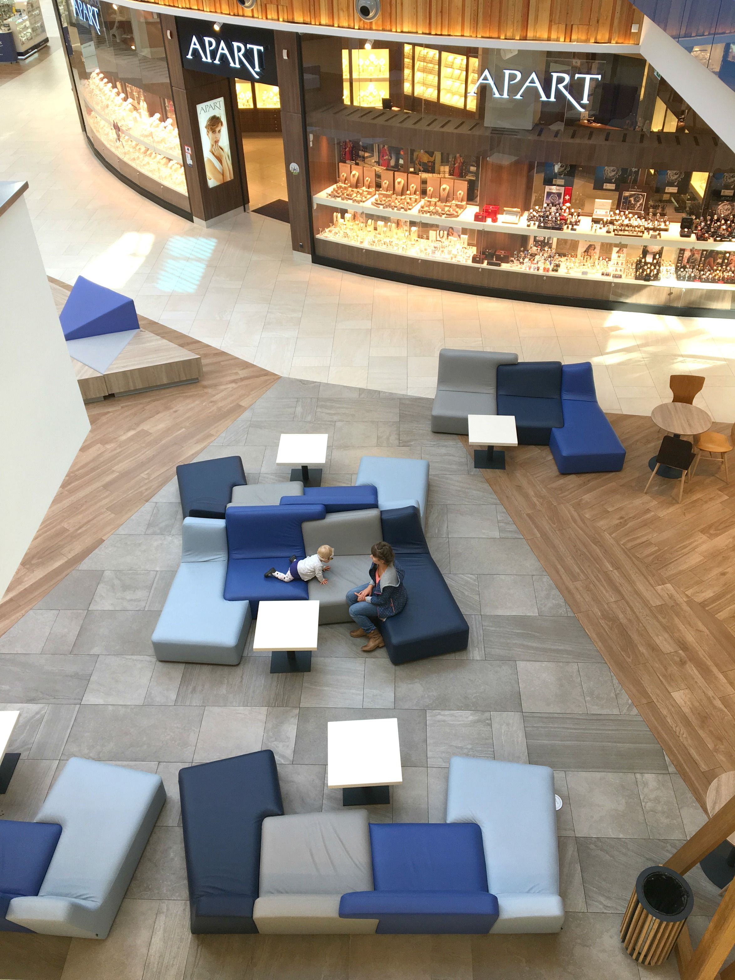 The Confluences Sofa By Designer Philippe Nigro, As Seen At The Aleja  Bielany Shopping Mall