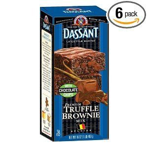 Dassant Truffle Brownie Mix, 16-Ounce Boxes (Pack of 6): Amazon.com: Grocery ...