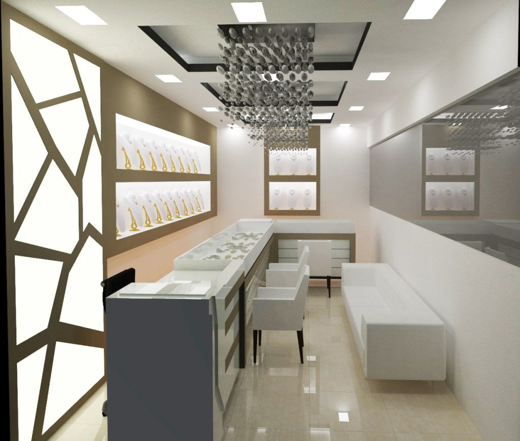 Jewellery showroom by kishan suthar | Jewellery showroom ...