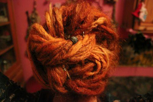 Likes | Tumblr #updo #hair #dreads #dreadlocks