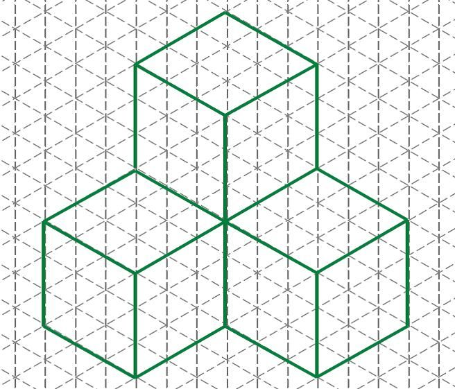 isometric grid - Google Search school ideas Pinterest - triangular graph paper