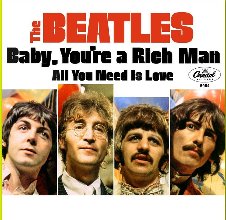 The Beatles - Baby You're a Rich Man & All You Need Is Love | The ...