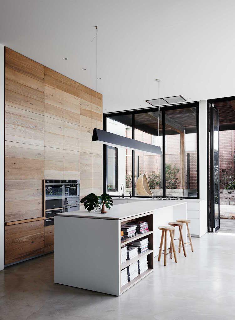 Zoom sur les points forts de la cuisine moderne avec îlot en 24 - Cuisine Moderne Design Avec Ilot