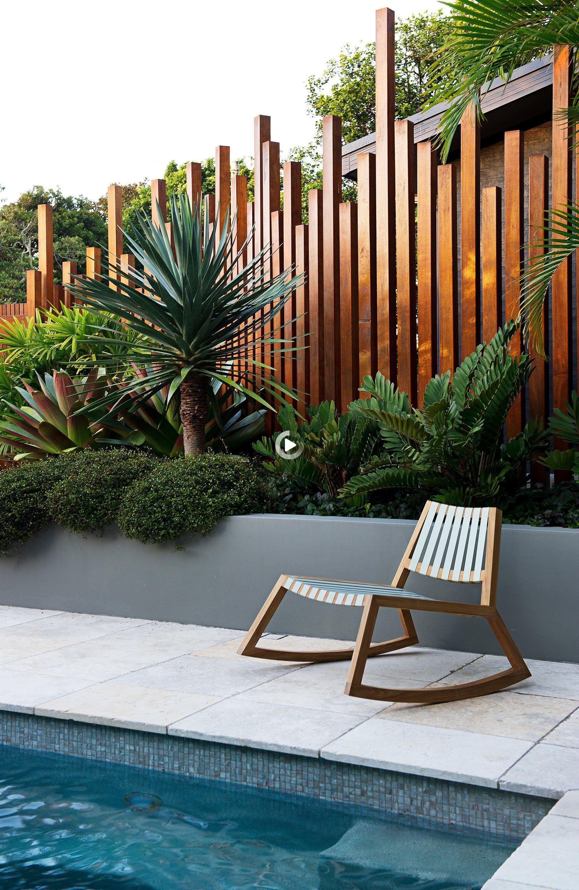 27+ Cloture jardin bois moderne trends