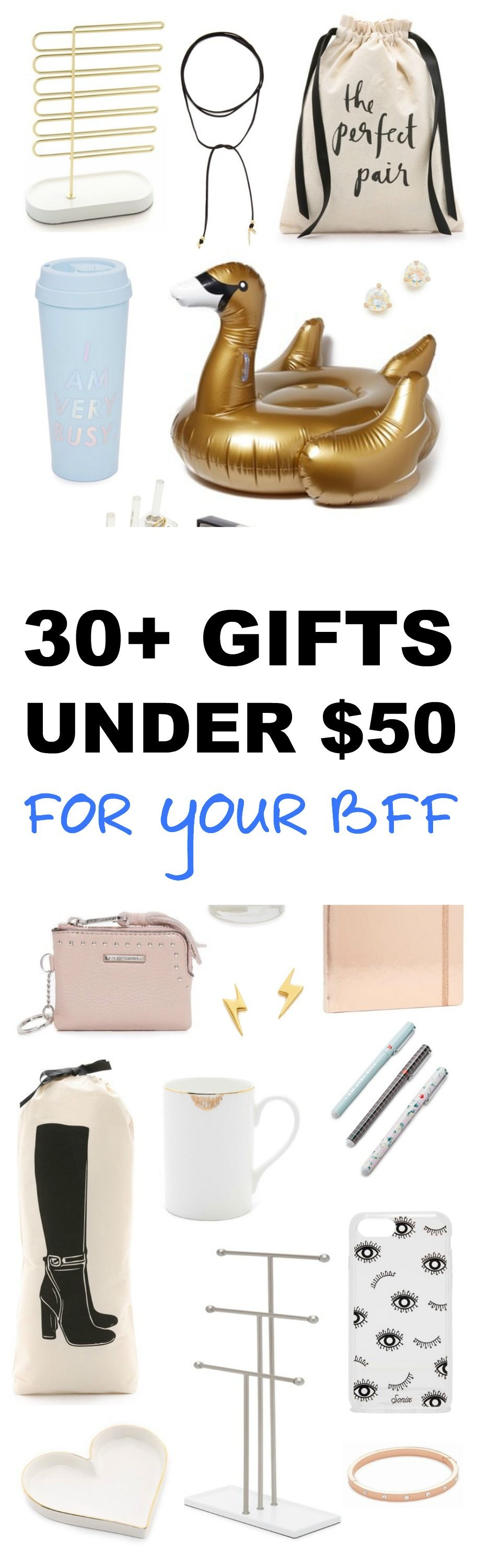 Bff Gift Ideas Under 50 Presents For Best Friends