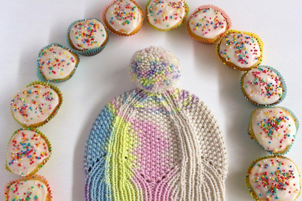 Rainbow Cake Knitting pattern by Amy van de Laar ...