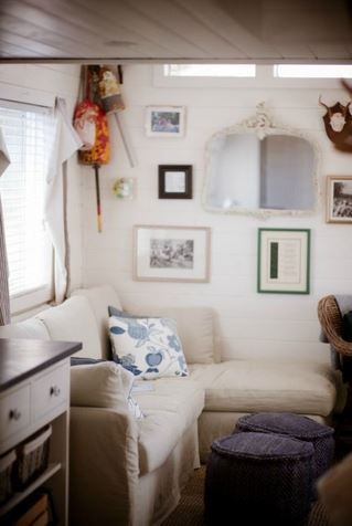 Park Model Home Decorating Ideas - Beach Cottage Chic Living room