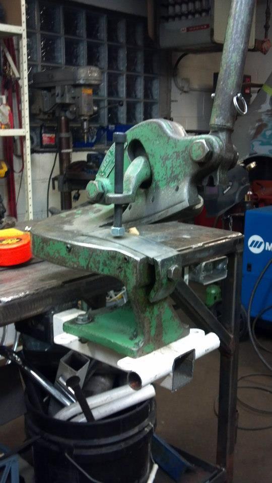 Workbench Tool Mount Organize Tools Metal Shop Metal Working