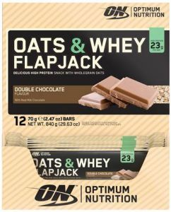 Optimum Nutrition - Oats and Whey Flapjack Bar (12 x 70g)