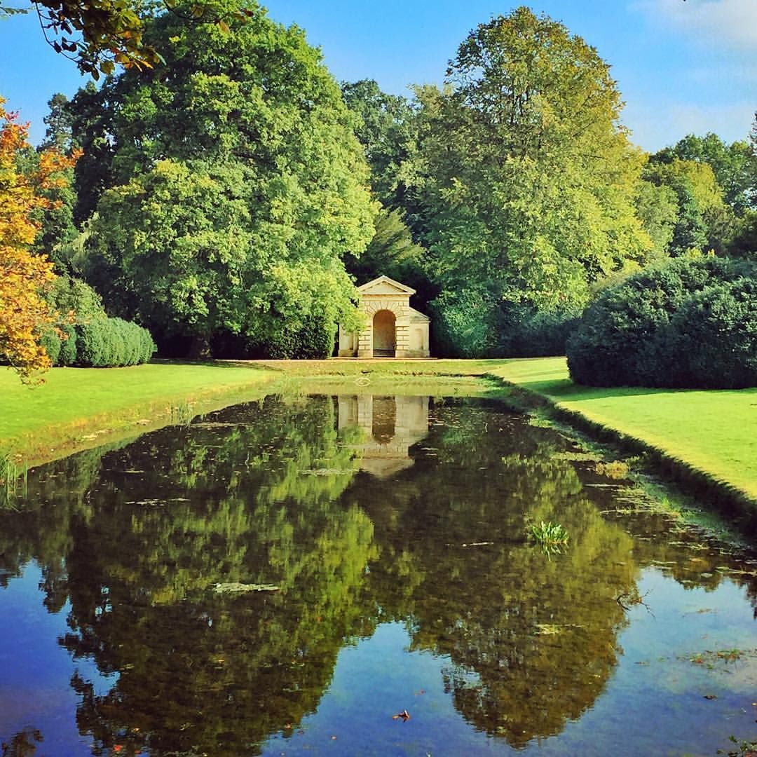 The Temple At Belton House Folly Pavilion Temple Garden - Temple landscape architecture