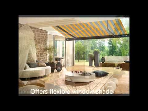 Video about patio awnings.