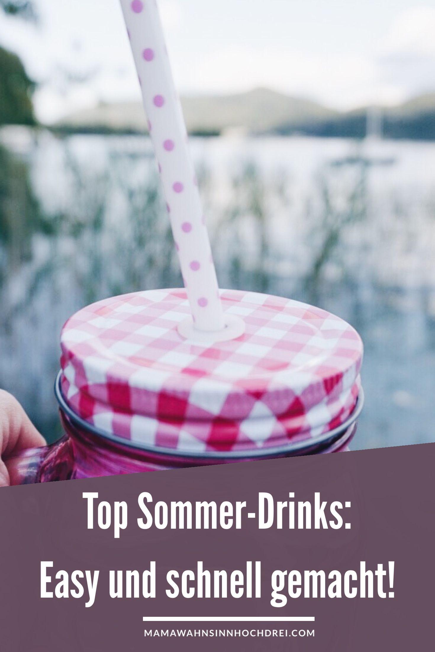 Top Sommer-Drinks   Pinterest   Durstlöscher, Eistee und Buttermilch