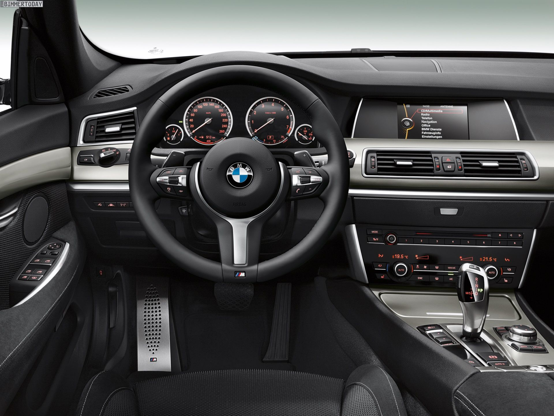 2014 BMW 5 Series Facelift M Sport Package Sedan, Touring