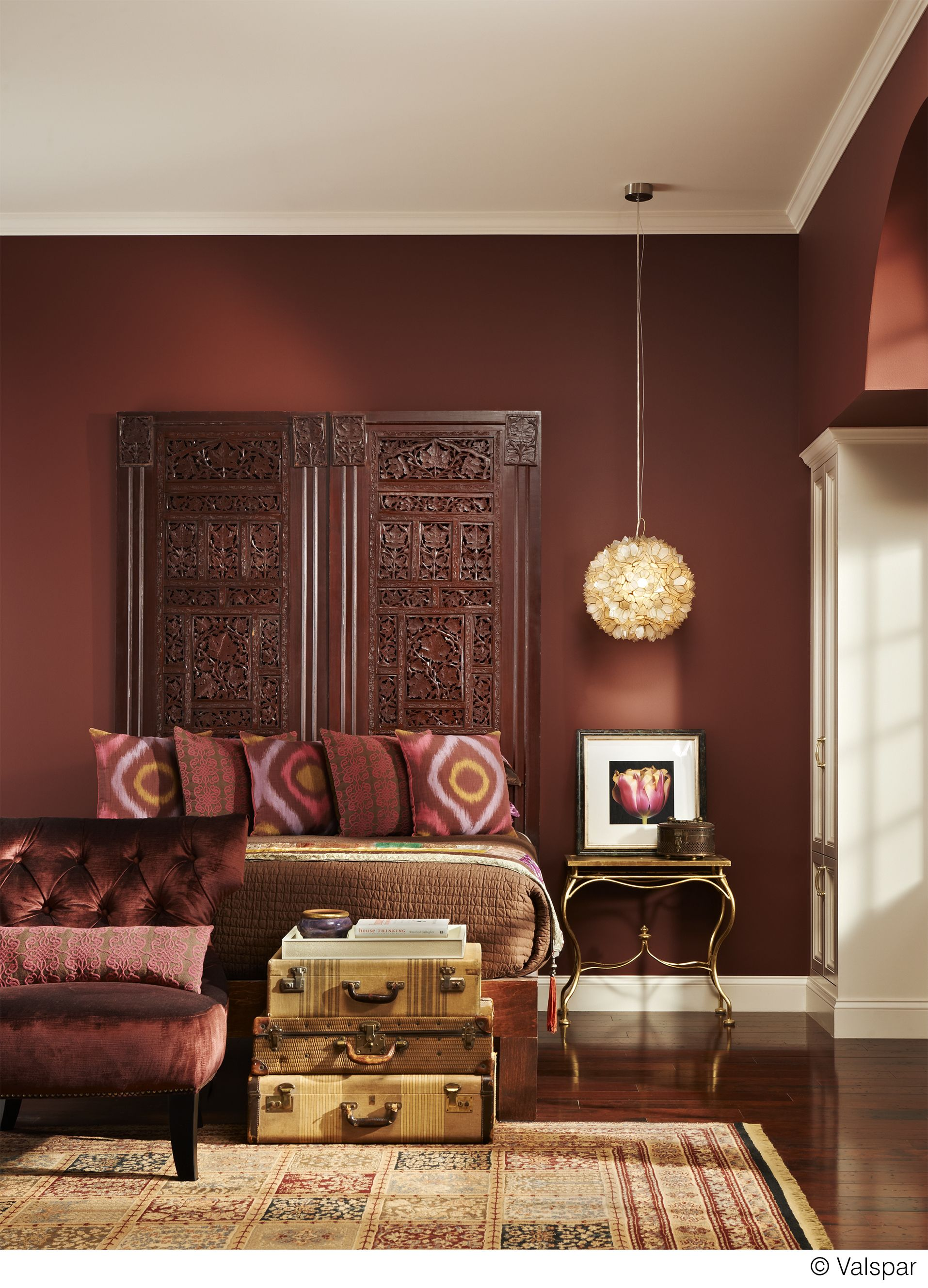 Bedroom Paint Ideas Lowes brown, bold and beautiful. this color is available at lowes as