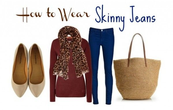 How to Wear Skinny Jeans - Musings of a Housewife