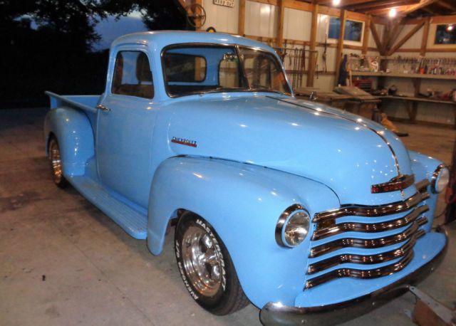 1947 Chevy Truck S10 frame V8 auto AC 5 window | 1947 Chevrolet 3100 ...