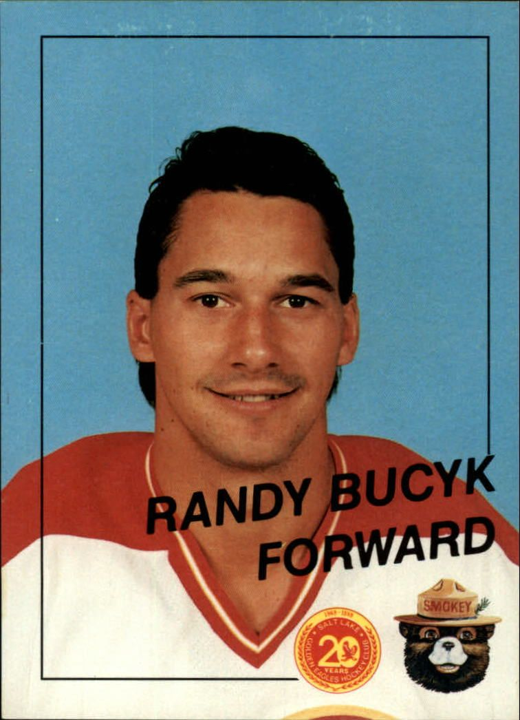salt lake golden eagles trading cards | 1988 89 Salt Lake Golden Eagles 16 Randy Bucyk | eBay