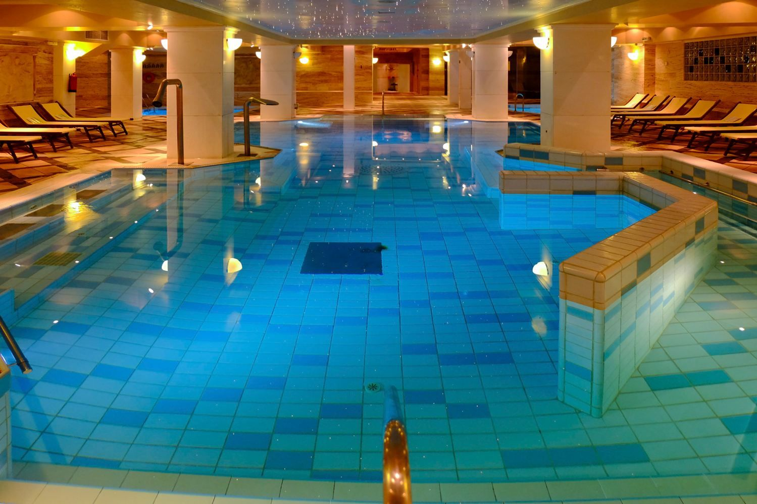 Thalassotherapy Spa Centre Main Indoor Heated Seawater Pool