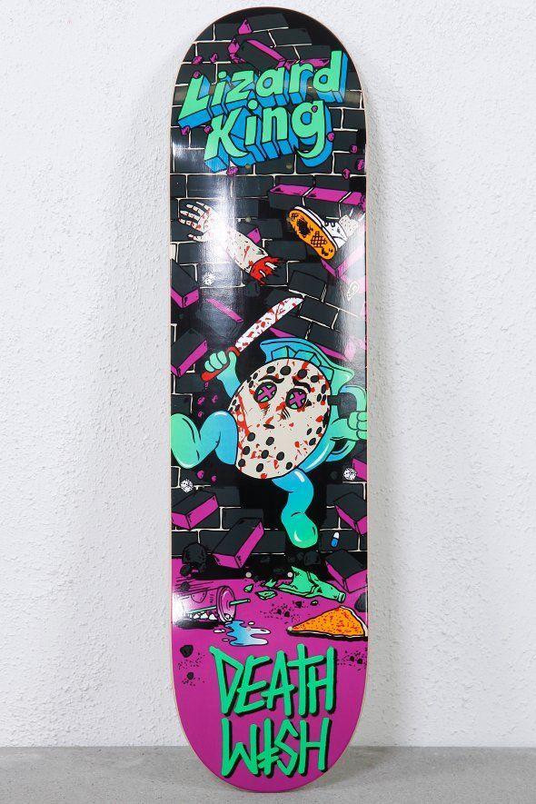 204938e7 DEATHWISH LIZARD KING CRAZY CONSUMERS, lizard, lizard skateboard, lizard  skate, lizard board