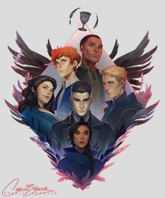 Six of Crows art by Charlie Bowater (Grisha Illumicrate) | Six of ...
