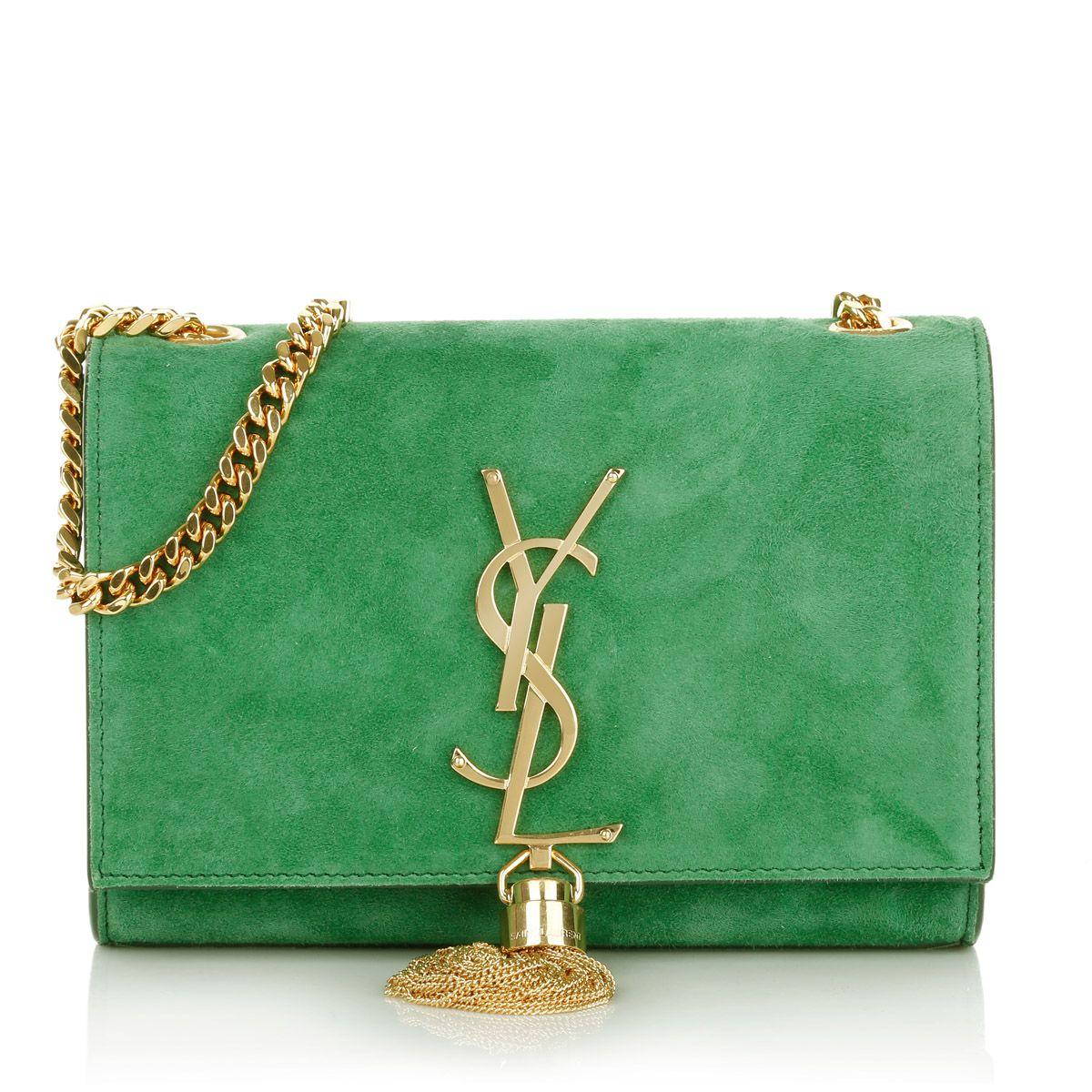 Modestile Qualität viele Stile Wear this Saint Laurent YSL Monogramme S Chain Clutch ...