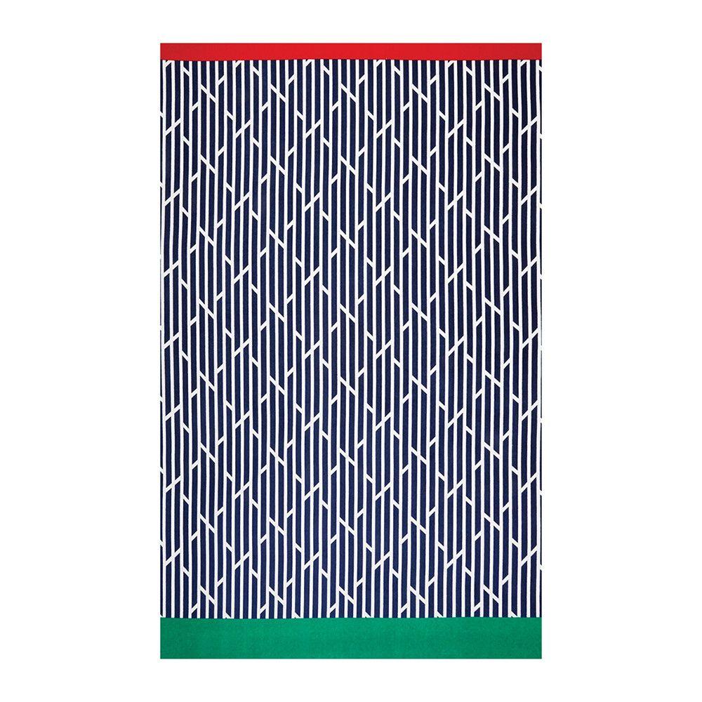 Buy Hugo Boss Wavy Flag Beach Towel Navy Amara Towel Towels