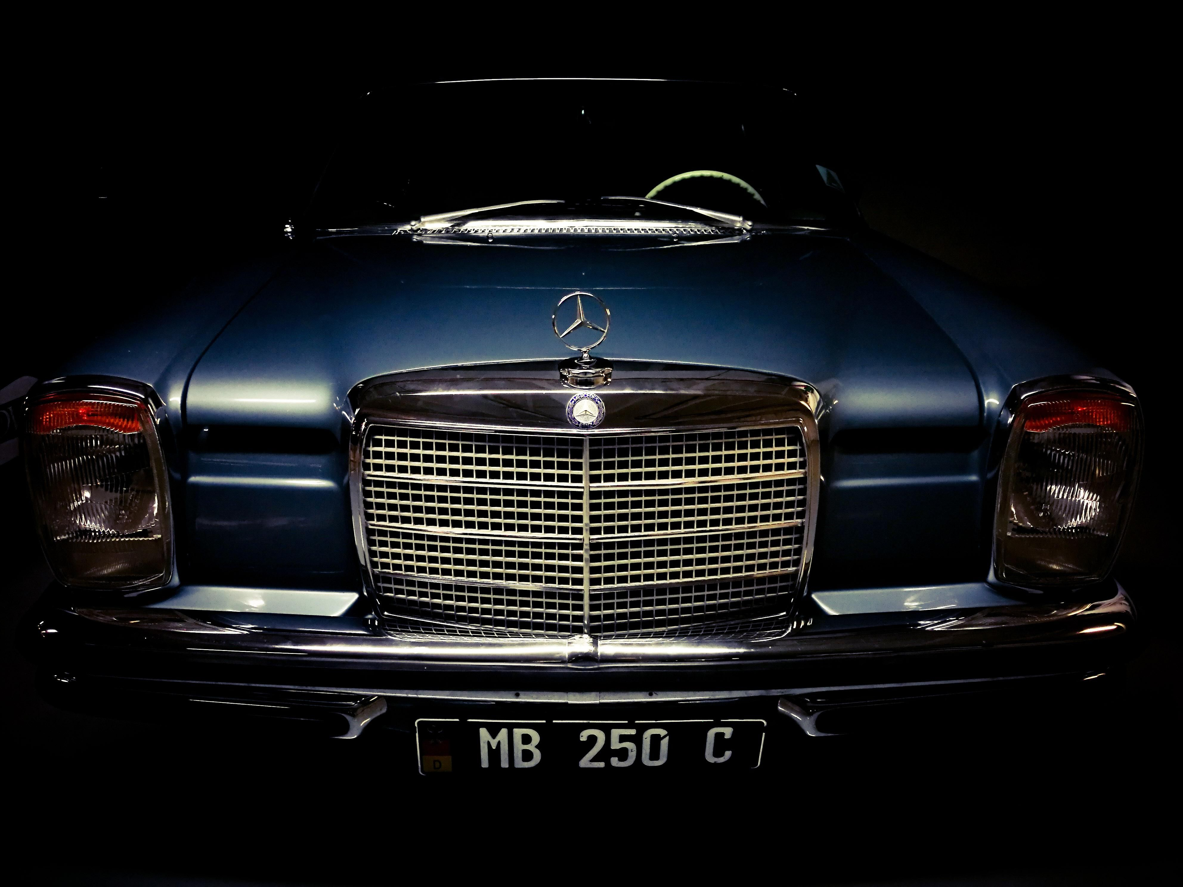 What are your thoughts on in this picture I took of an old Mercedes