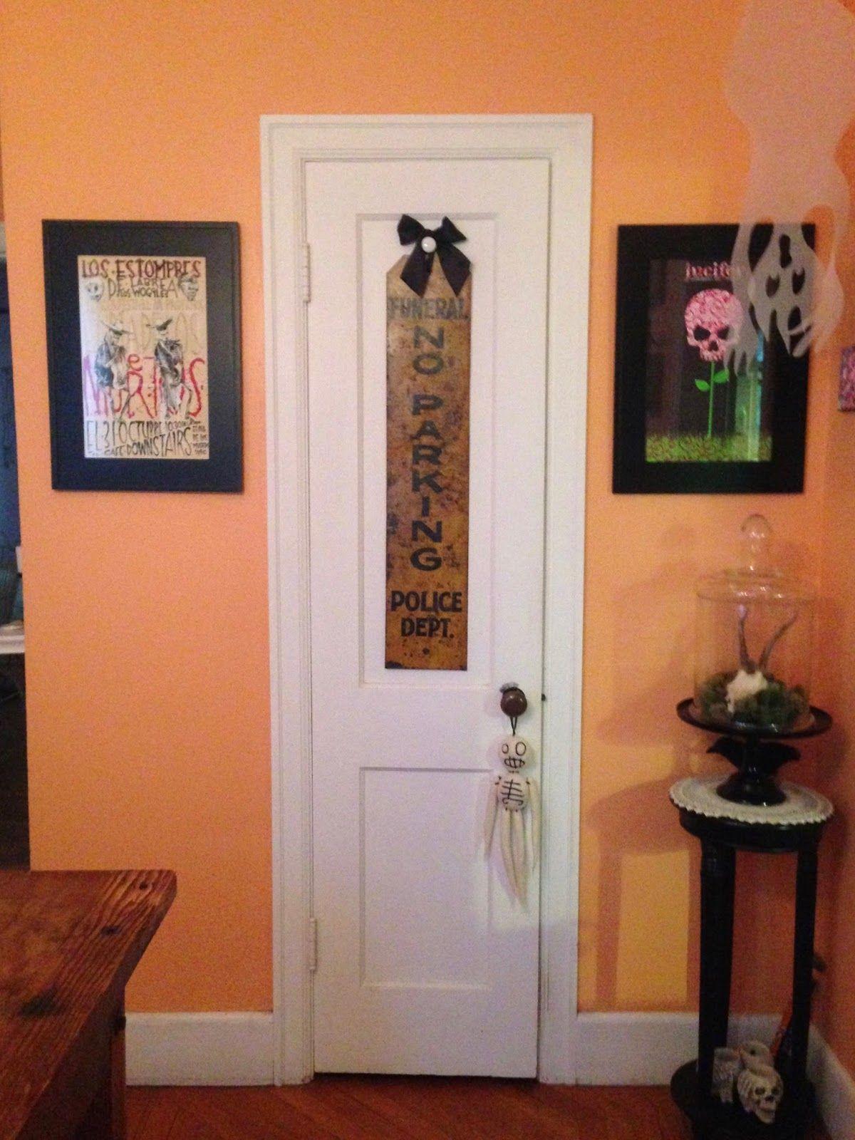 halloween in the orange room   orange rooms and room