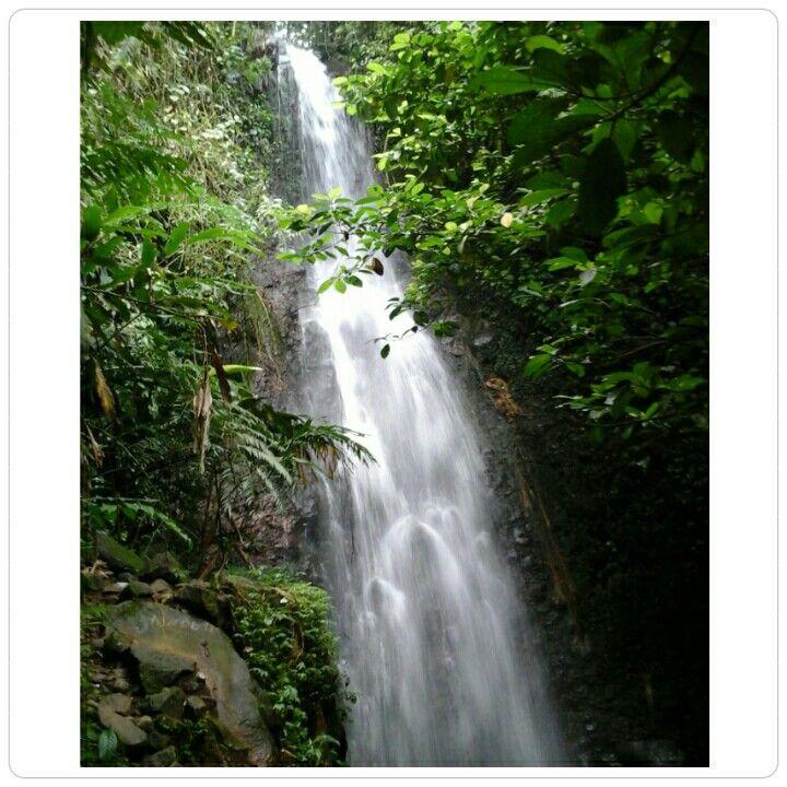 Cilember waterfall,West java,Indonesia