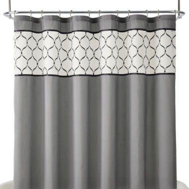 Royal Velvet Kaler Shower Curtain Found At Jcpenney Bathroom