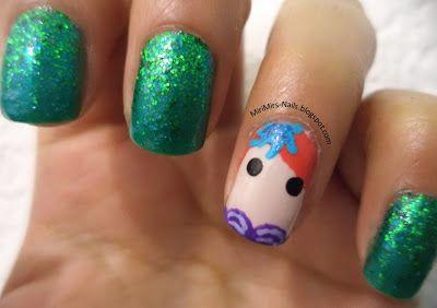 Nail Art: #SummerNails: Sirena